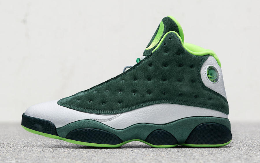 Air Jordan 13 Oregon Ducks Football PE