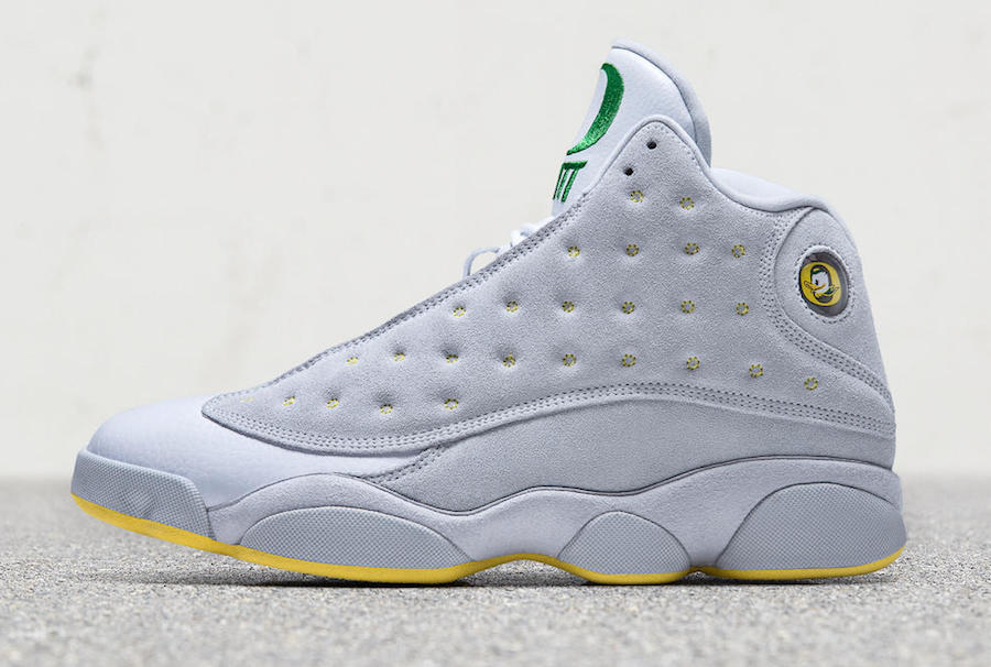 Air Jordan 13 Oregon Ducks PE Matthew Knight