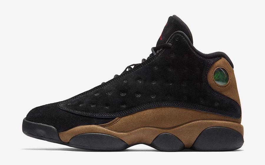 Air Jordan 13 Olive 414571-006 Release