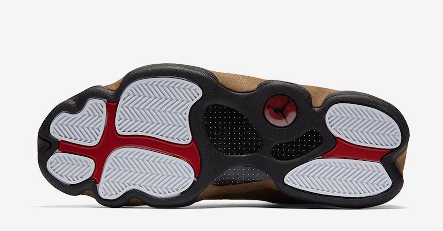 Air Jordan 13 Retro Olive Release