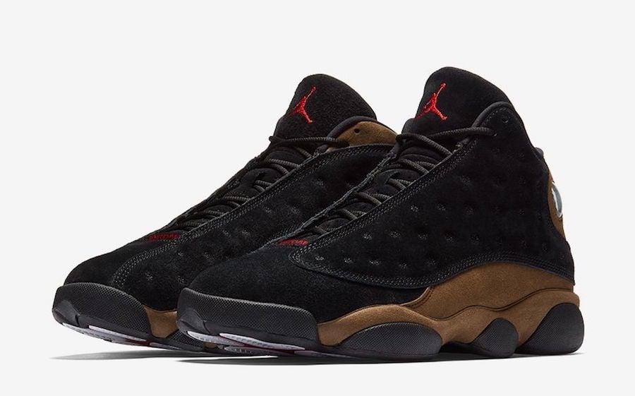 Air Jordan 13 Olive 414571-006 Release Date  5fa2563e9