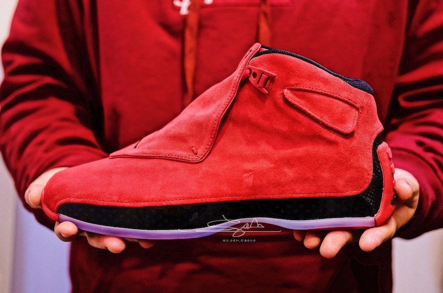 Air Jordan 18 Toro Gym Red AA2494-601