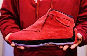 Air Jordan 18 Toro Gym Red AA2494-601