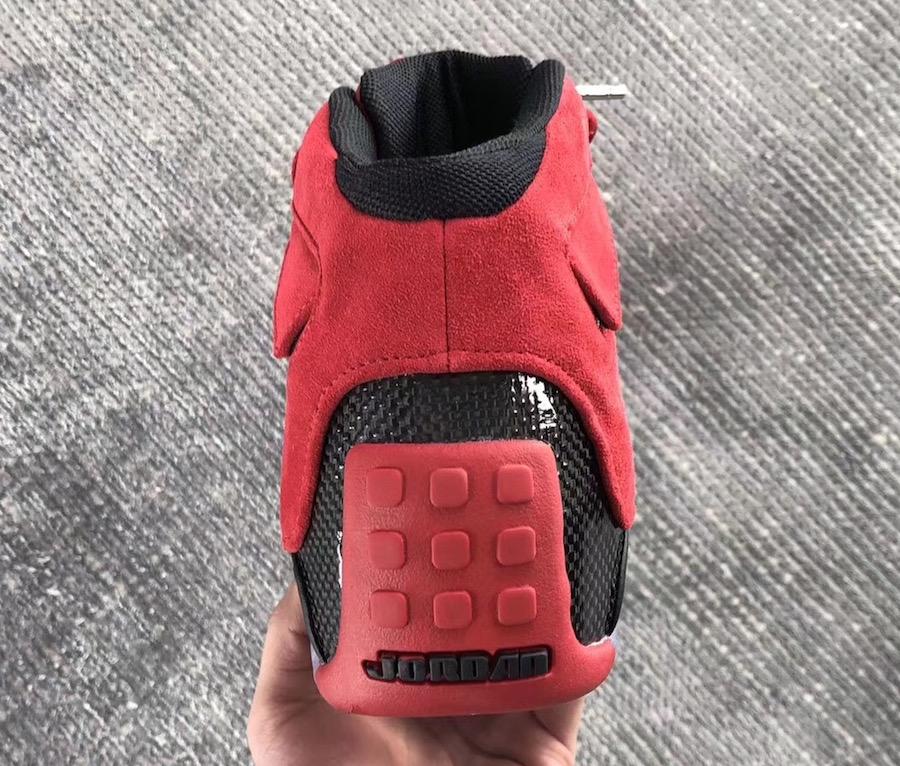 c6b5f43c69b Air Jordan 18 Toro Ragging Bull Red Suede AA24R94-601 Release Date