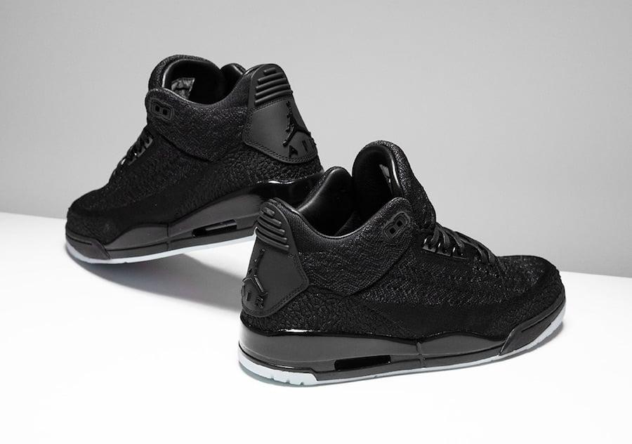 900597442650c5 Air Jordan 3 Flyknit Black AQ1005-001 Release Info
