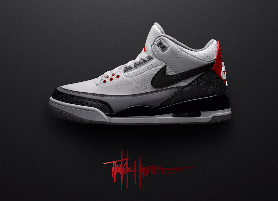 d4e6f53a91b1 Air Jordan 3 Tinker Fire Red AQ3835-160