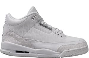 Air Jordan 3 Triple White 136064-111 Release Date