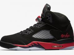 Air Jordan 5 Bred Black University Red 136027-006 Release Date
