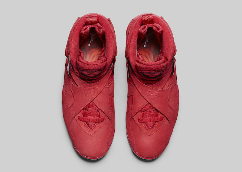 f378881f24a Air Jordan 8 Valentine's Day Red AQ2449-614 | SneakerFiles