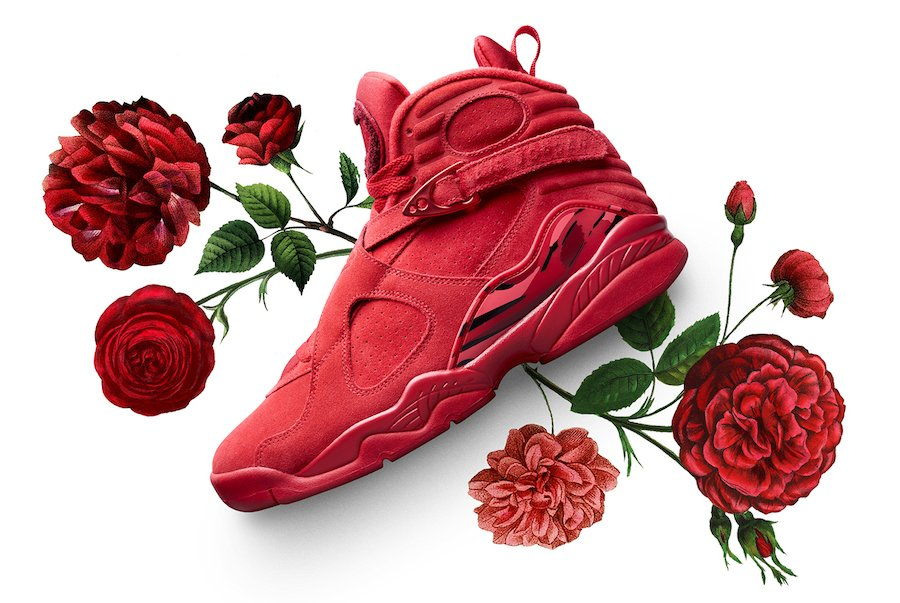 Air Jordan 8 Valentine S Day Red Aq2449 614 Sneakerfiles