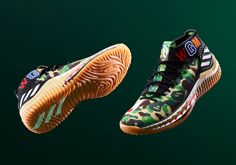 BAPE adidas Dame 4 Release Details All-Star Weekend