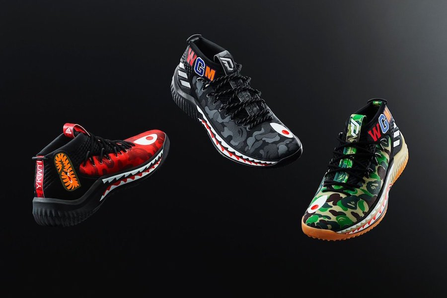BAPE adidas Dame 4 Release Details All-Star Weekend cd0cc7fab