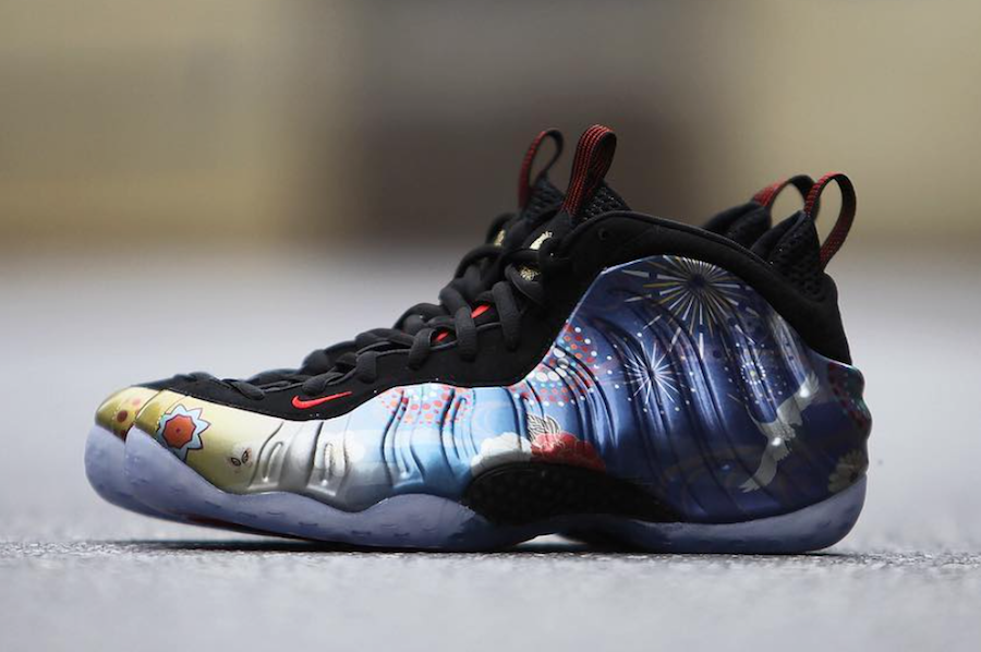 CNY Nike Air Foamposite One Chinese New Year