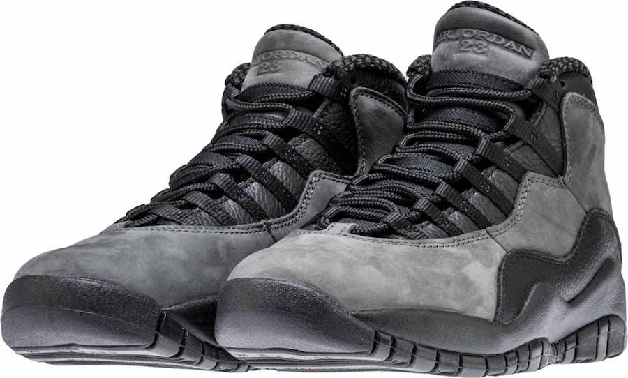 Dark Shadow Air Jordan 10 2018 Retro Release Date