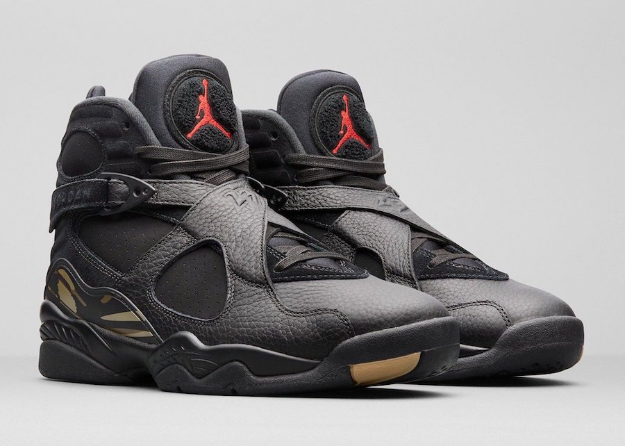 Drake Air Jordan 8 OVO Black