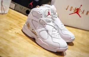 Drake OVO Air Jordan 8 White AA1239-135 2018
