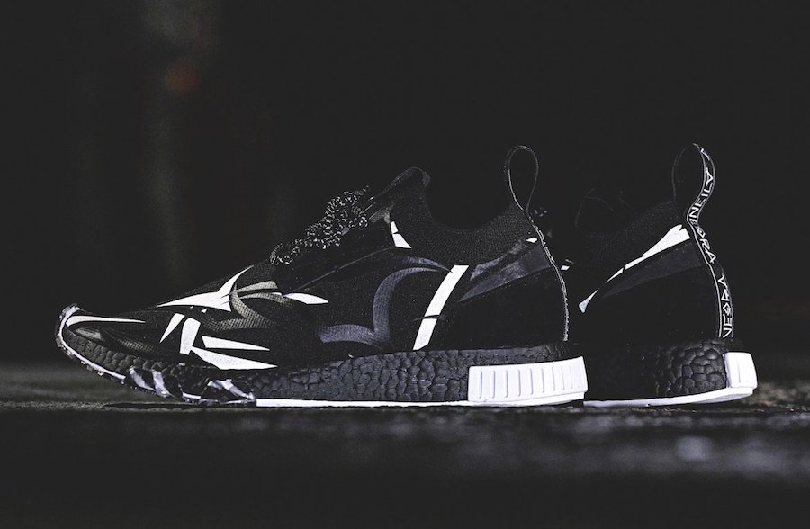 JUICE adidas NMD Racer Black White DB1777