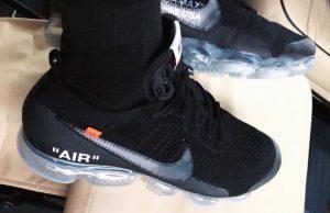 LeBron James Off-White Nike VaporMax Black