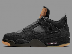 Levis Air Jordan 4 Black Denim Release Details