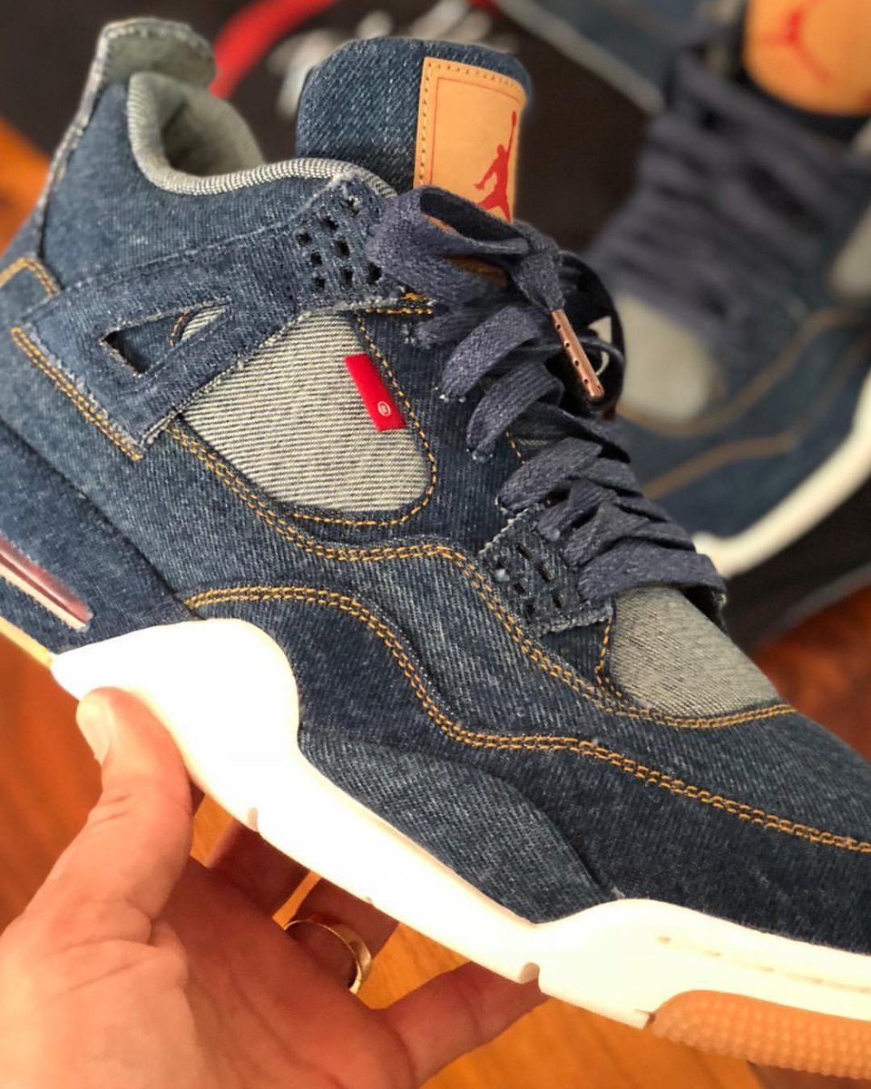 Levis Air Jordan 4 Denim Info