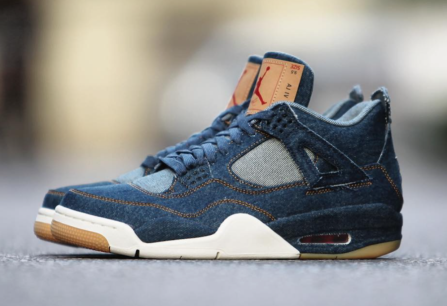 Levis Air Jordan 4 Denim AO2571-401  553fb5a1a