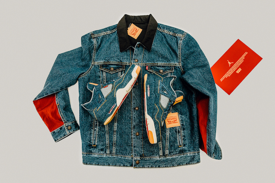 Where to Buy the Levi's x Air Jordan 4 and Matching Reversible Trucker Jacket
