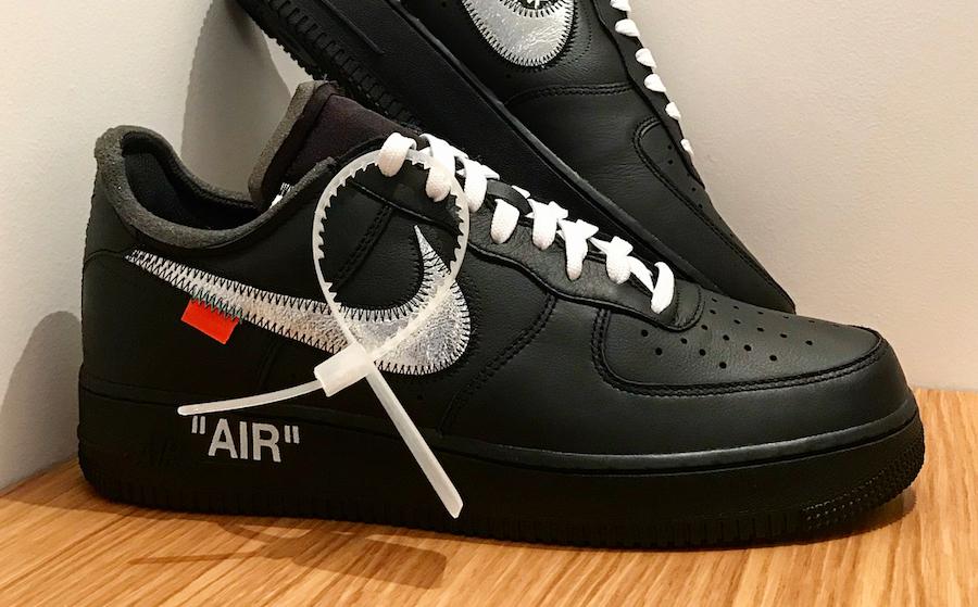 MoMa Virgil Nike Air Force 1 07 AV5210-001 Release Date
