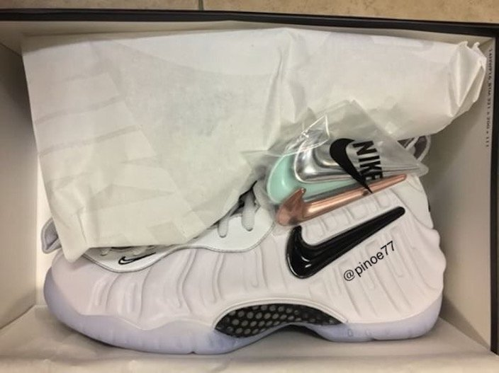 Nike Air Foamposite Pro All-Star Removable Swoosh Logos Release Details