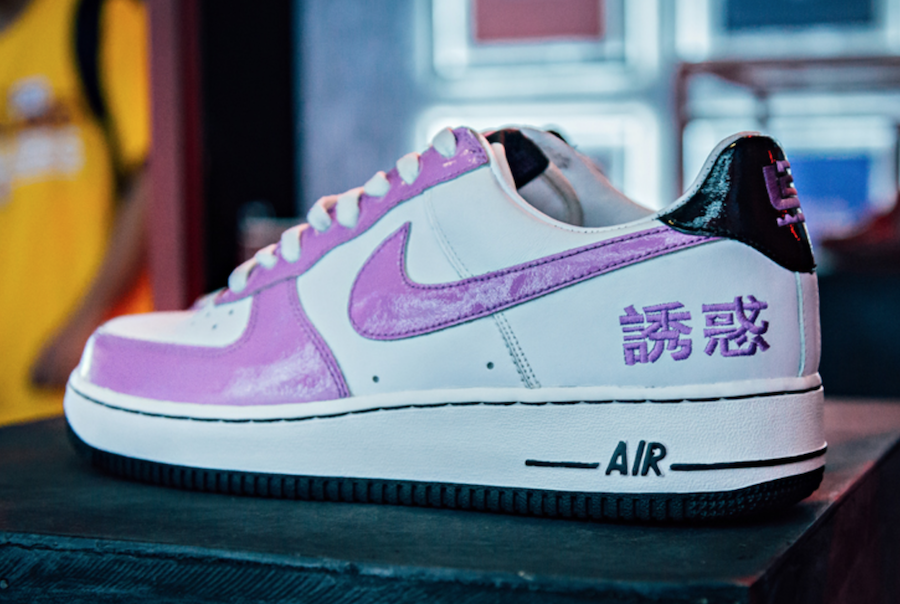 Nike Air Force 1 Chamber of Fear Temptation
