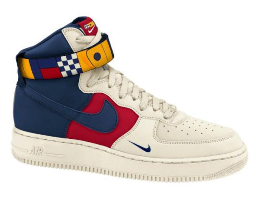 Nike Air Force 1 High 07 LV8 Nautical AR5395-100