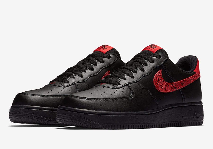 Nike Air Force 1 Low Red Paisley AO3154-001  69be4fc9a