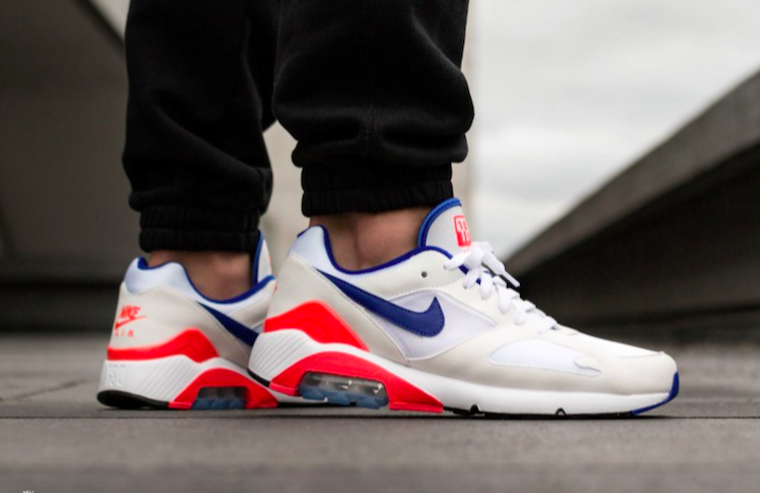 Nike Drops Air Max 180 in Ultramarine Solar Red | HYPEBAE