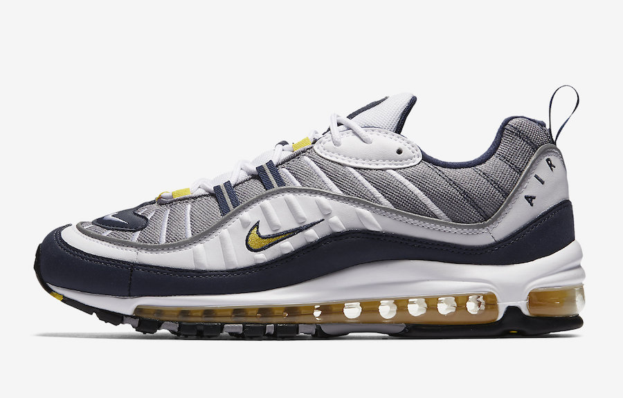 Nike Air Max 98 OG Tour Yellow 640744-105