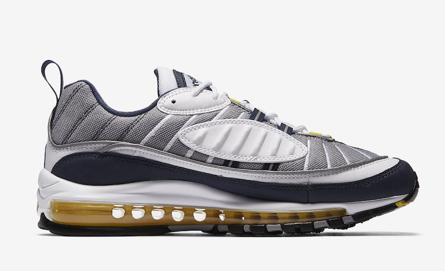 Nike Air Max 98 OG Tour Yellow 640744 105 Release Info