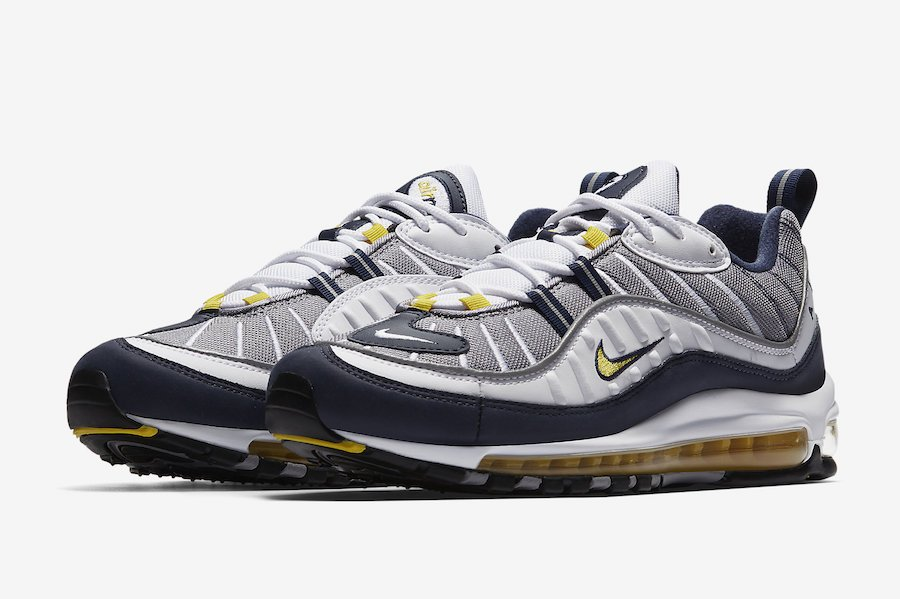 858bf2a03b Nike Air Max 98 OG Tour Yellow 640744-105 Release Info