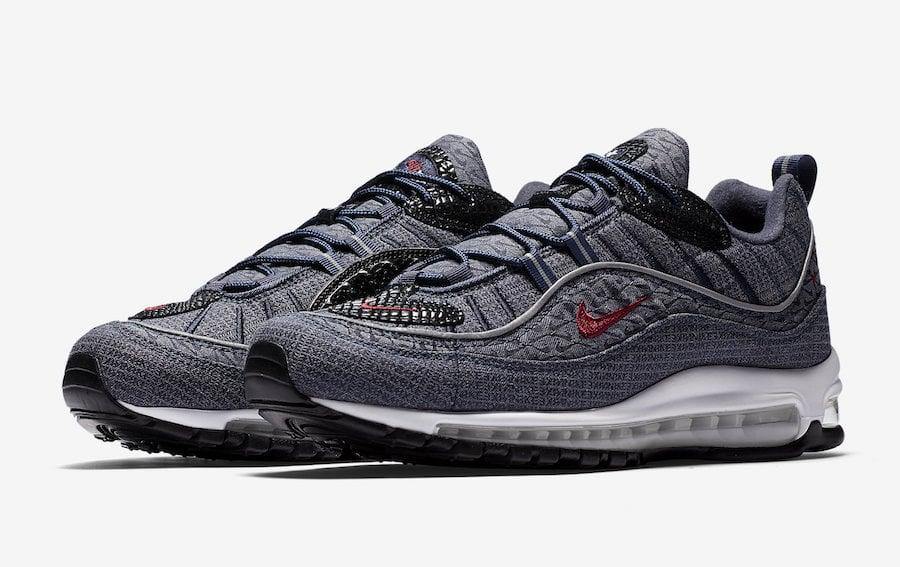 Nike Air Max 98 QS Thunder Blue 924462-400