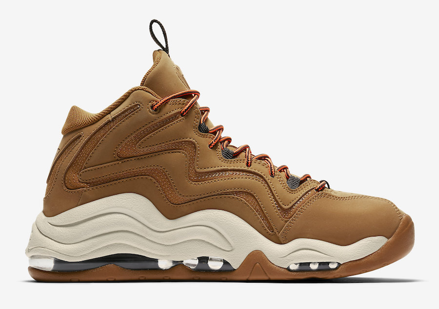 Nike Air Pipen 1 Wheat 325001-700 Release Date