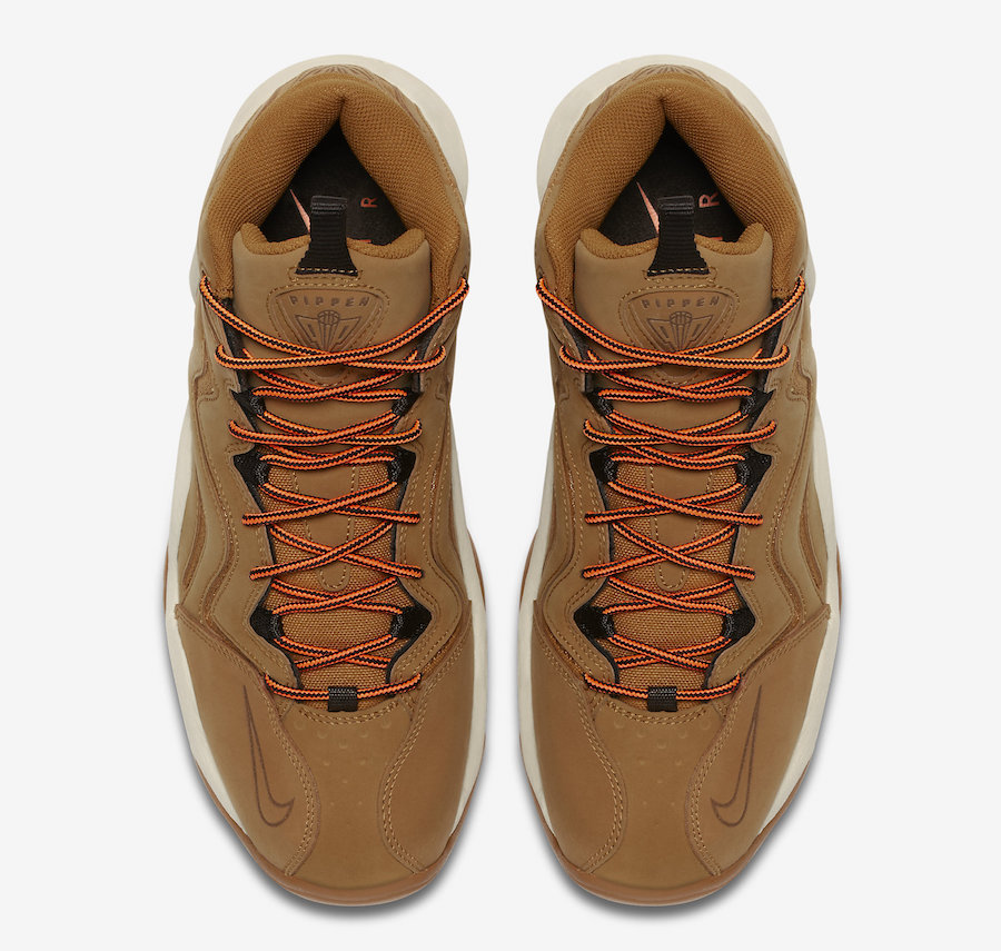 reputable site 28d81 a4bc6 Nike Air Pipen 1 Wheat 325001-700 Release Date