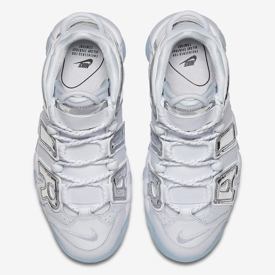 Nike Air More Uptempo Chrome S917593-100