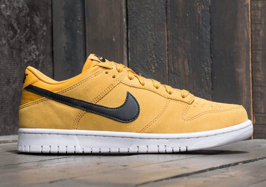 Nike Dunk Low Mineral Yellow 904234-700