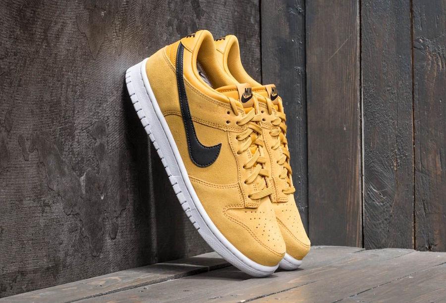 Nike Dunk Low Mineral Yellow Terra Orange