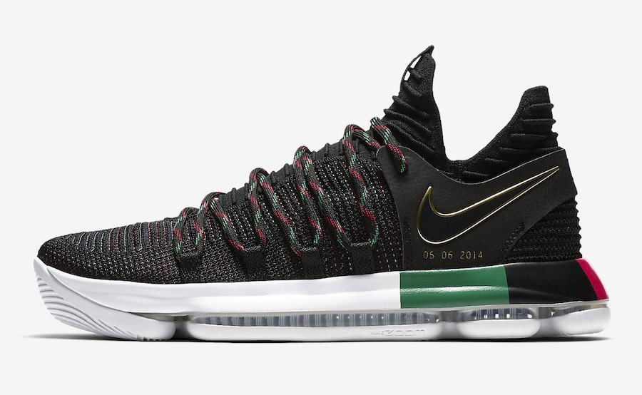 Nike KD 10 BHM Black History Month AA4197-003