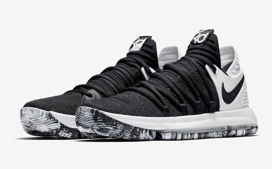 Nike KD 10 Black White 897815-008
