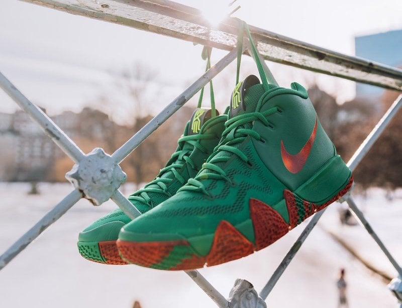 Nike Kyrie 4 Fall Foliage PE Release Date