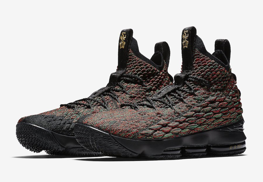 best loved e2258 8e7a4 Nike LeBron 15 BHM Black History Month AA3857-900 | SneakerFiles
