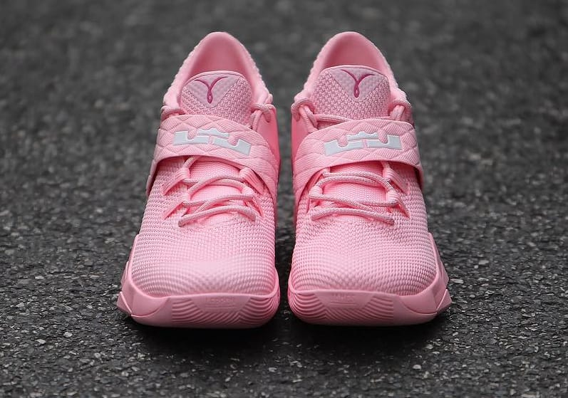 cheap for discount 9fc53 b4b26 Nike LeBron Ambassador 10 Kay Yow Think Pink