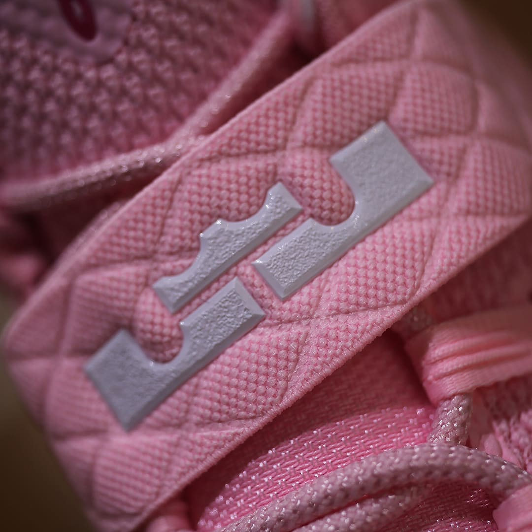 Nike LeBron Ambassador 10 Kay Yow Think Pink