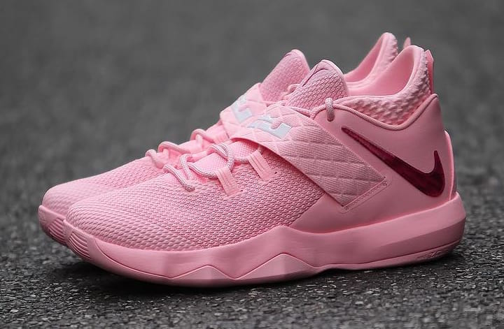 a8885bd5a9f Nike LeBron Ambassador 10 Kay Yow Think Pink