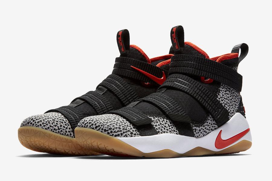 los angeles e5289 f0584 Nike LeBron Soldier 11 SFG Safari 897646-006