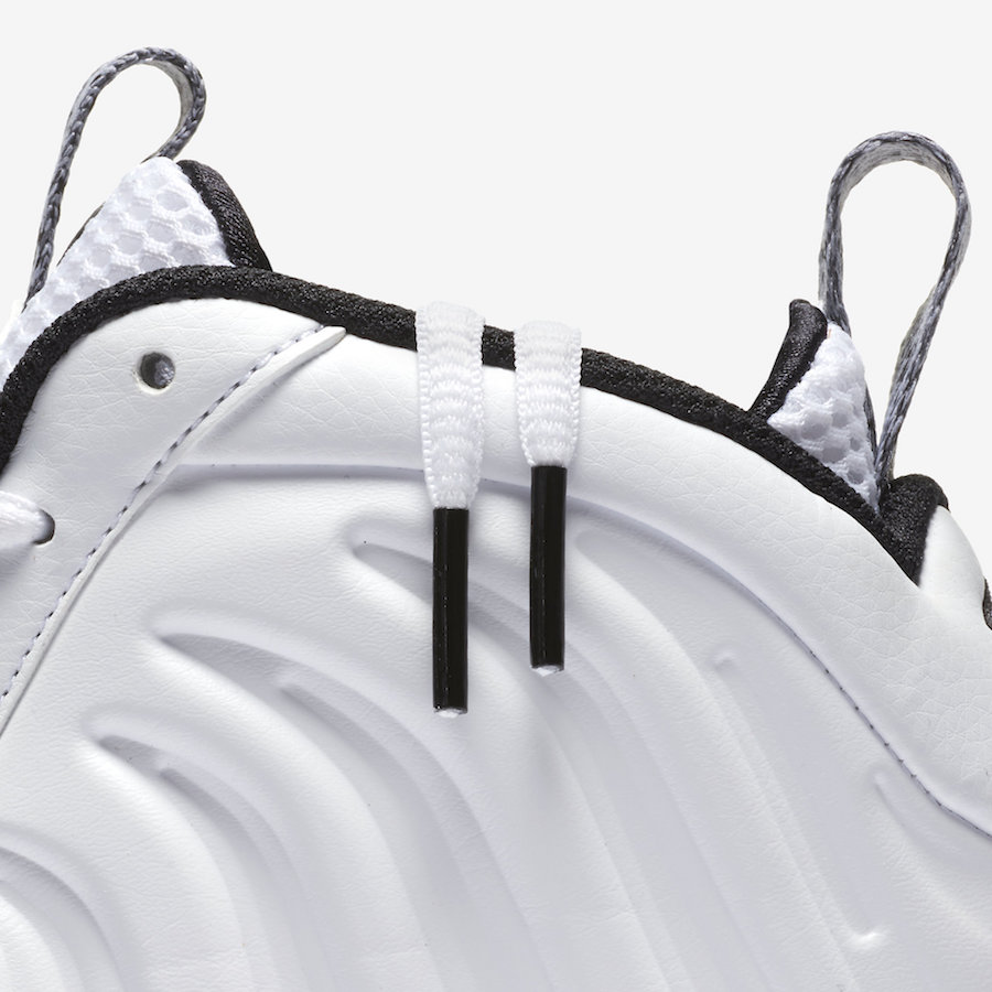 Nike Little Posite One White Ice 644791-102 Release Date